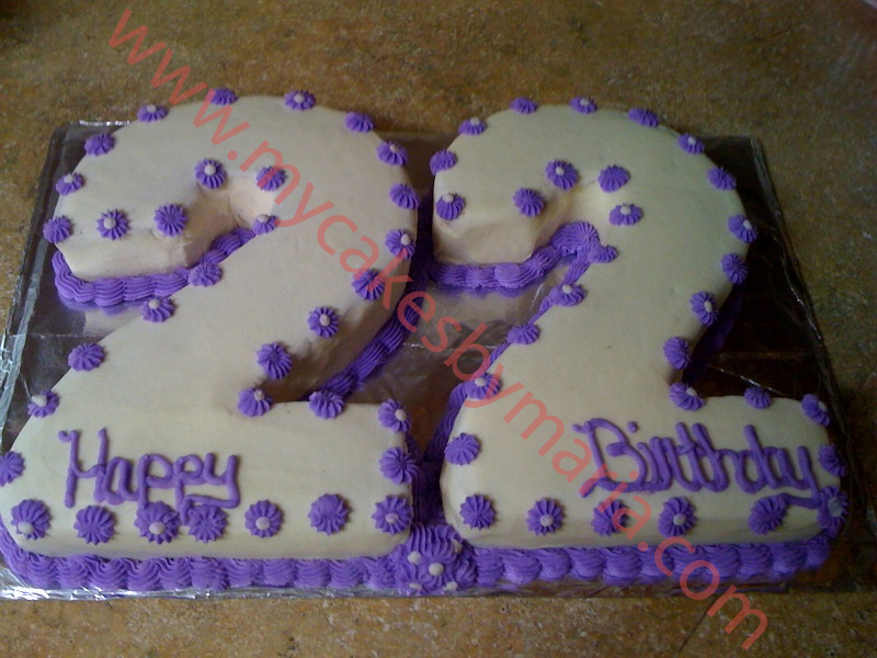 Cakes By Maria Number Letter Cakes